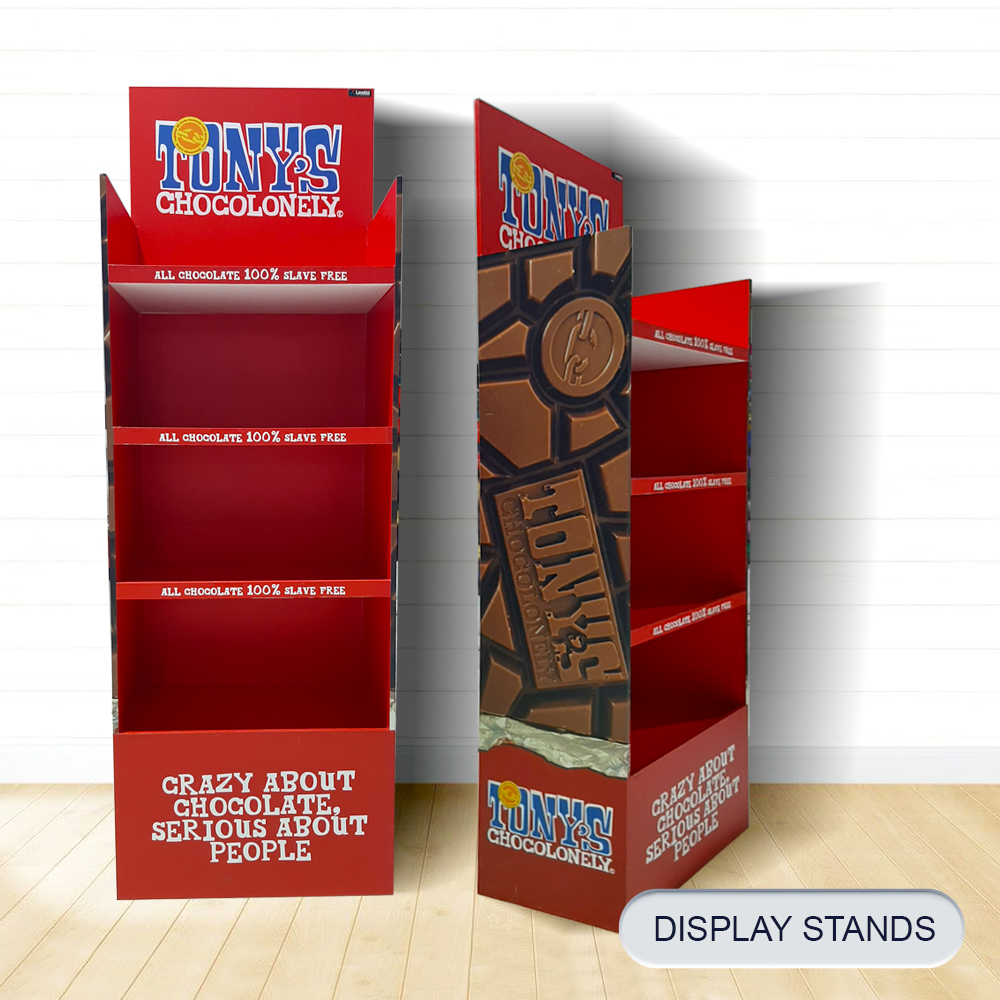 16 post DISPLAY STANDS