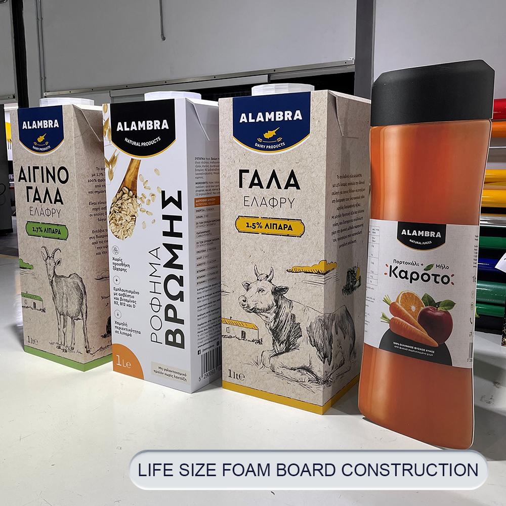 9Β post life size foam board construction